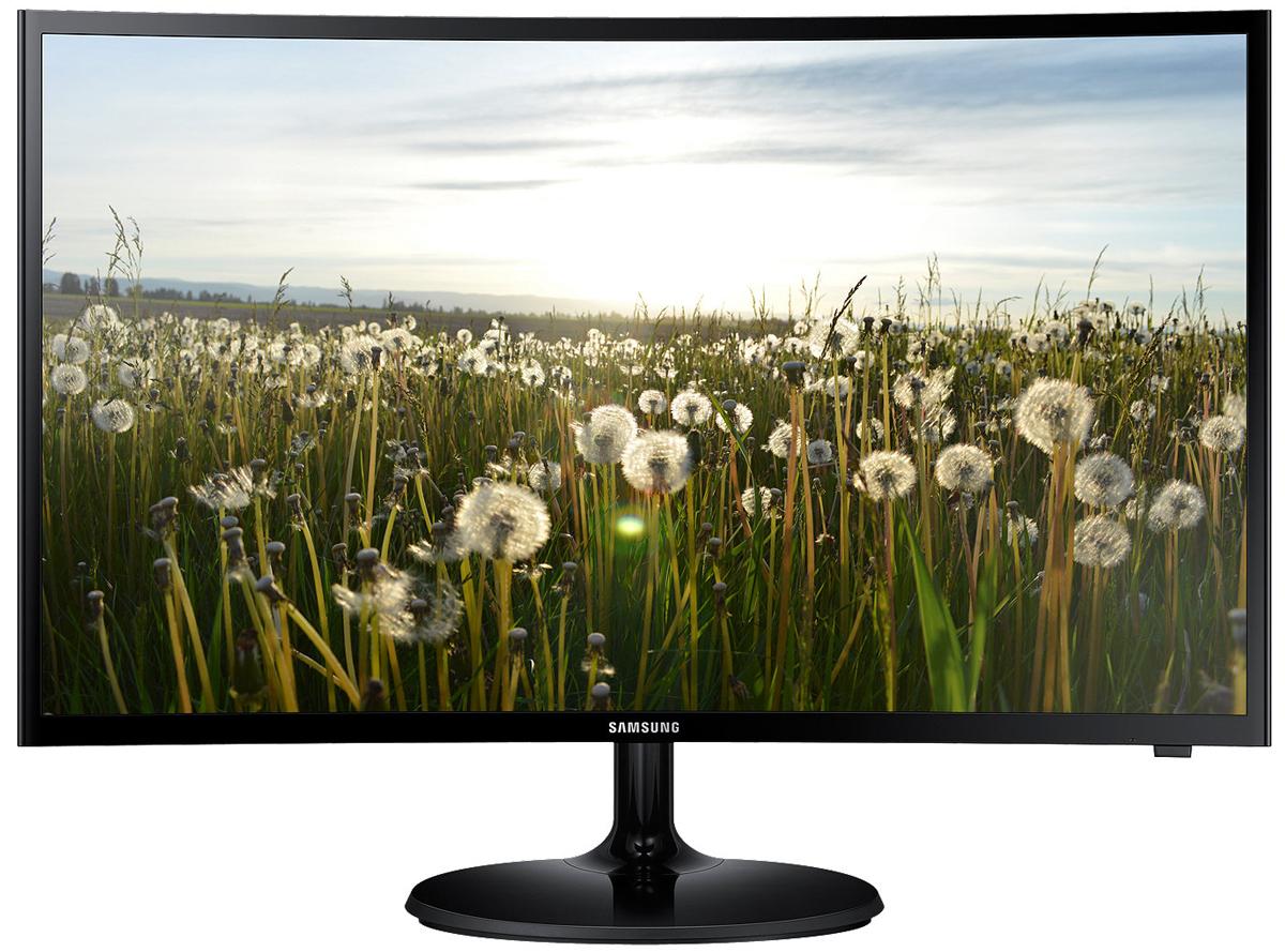 Samsung V32F390FIX телевизорLV32F390FIXXRUОщутите поистине захватывающие эмоции от просмотра и работы с необычным изогнутым монитором Samsung V32F390FIX. Кривизна линии изгиба изогнутого монитора с учетом разницы расстояния от зрителя до экрана подобна кривизне экрана в кинотеатре iMax и составляет 1800R или 1800 мм (радиус дуги, по которой изогнут экран). Это обеспечивает более широкое поле зрения и увеличивает пространственную глубину изображения на экране. Таким образом, любимое ТВ-шоу, гоночная игра и другой медиаконтент подарят вам совершенно иной, незабываемый опыт.Экран с кривизной 1800R обеспечивает более комфортные условия для просмотра изображения, поскольку при перемещении взгляда от центра к периферии расстояние до экрана не меняется и хрусталики глаз не меняют своей кривизны, благодаря чему глаза не устают даже после длительного просмотра телепередач.Клинические тесты в Отделе офтальмологии медицинского центра Сеульского национального университета показали, что нагрузка на зрение при просмотре изображения на изогнутом экране меньше, чем на экране с плоским экраном.Высокая статическая контрастность (3 000:1) обеспечит глубокий черный цвет, удобную работу с текстом и яркие цвета в насыщенных сценах. Используемая матрица с вертикальным выравниванием жидких кристаллов обеспечивает равномерную подсветку и глубину черного цвета.LED-телевизор Samsung V32F390FIX обладает дополнительным режимом Sports mode, который активируется с помощью пульта ДУ всего одним нажатием. Режим позволяет повысить качество изображения и звука.Встроенные стереоколонки мощностью 5 Вт каждая обеспечат глубокий, богатый звук для лучшего погружения.Толщина корпуса составляет меньше 13 мм, при этом качество сборки не вызывает нареканий, а экран тоньше более чем в два раза по сравнению с прошлой моделью. Круглая подставка фиксирует монитор на столе, что позволяет уменьшить нежелательные изменения положения.