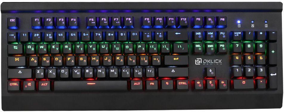 Oklick 920G Iron Edge, Black игровая клавиатура