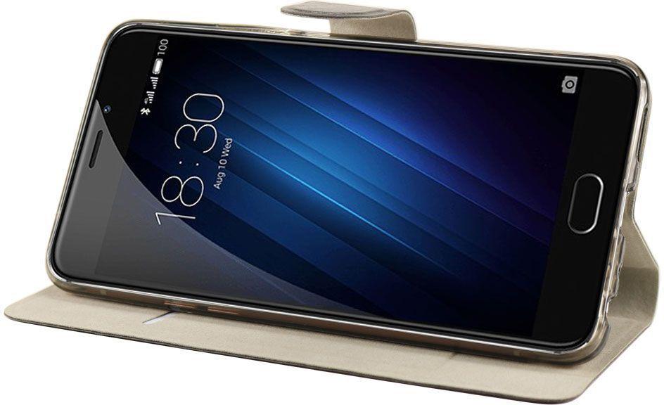 IT Baggage чехол для Meizu M3E, BlackITMZM3E-1Чехол IT Baggage надежно защищает смартфон от случайных ударов и царапин, а так же от внешних воздействий, грязи, пыли и брызг. Крышка используется как подставка под устройство. Чехол обеспечивает свободный доступ ко всем функциональным кнопкам.