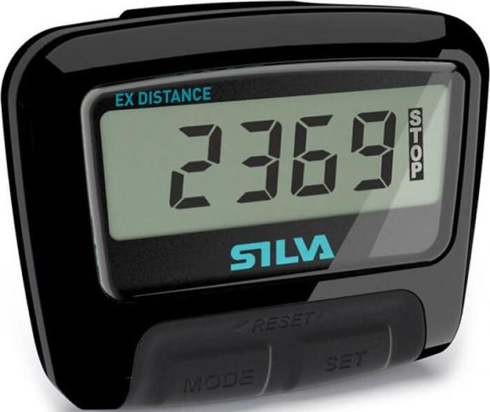 Шагомер Silva  Pedometer ex Distance , цвет: черный - Диагностика
