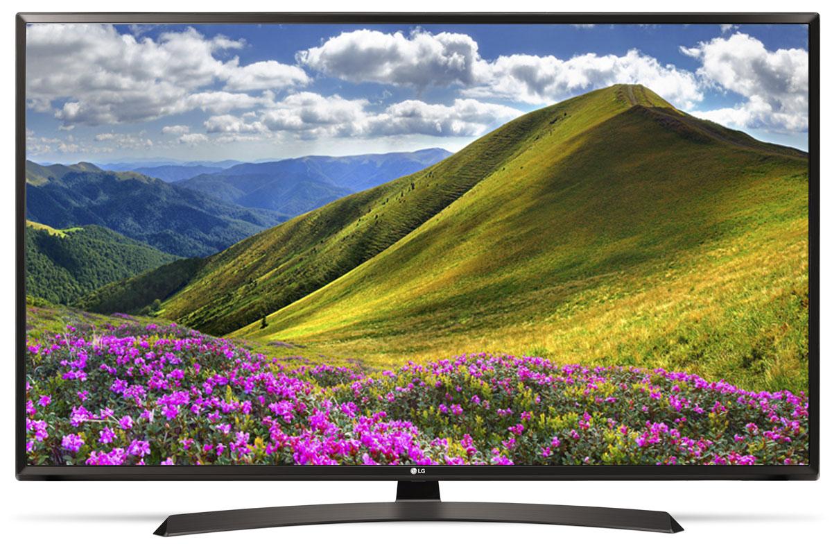 LG 43LJ595V телевизор90000004353С LG LG 43LJ595V вы можете воспроизводить фильмы, музыку и фото максимально удобным способом - прямо с USB-флэшки или жесткого диска.Телевизор оснащен портами HDMI - для максимального качества звука и картинки. HDMI - это мультимедийный интерфейс высокой четкости. Единый стандарт HDMI позволяет получать новому телевизору LG максимально четкий аудио и видеосигнал.Современный пульт Magic Remote и обновлённый интерфейс webOS 3.5 создают максимальный комфорт для погружения в новый яркий мир: самое время окунуться в интригующий сюжет.По-новому глубокие и насыщенные цвета. Помимо улучшения цветопередачи, уникальные технологии обработки изображения отвечают за регулировку тона, насыщенности и яркости.Революционное качество изображения и цвета. Разрешение Full HD 1080p отвечает стандартам высокой четкости, отображая на экране 1080 (прогрессивных) линий разрешения, для более четкого и детального изображения.Улучшить изображение? Запросто! При использовании механизма масштабирования разрешения Resolution Upscaler изображения любого качества выглядят существенно лучше.Звук, который волнует. Технология Virtual Surround Plus создает у зрителя ощущение, будто звук льется со всех сторон. Благодаря эффекту присутствия, кажется, что ты в толпе на выступлении любимой группы или в студии звукозаписи.