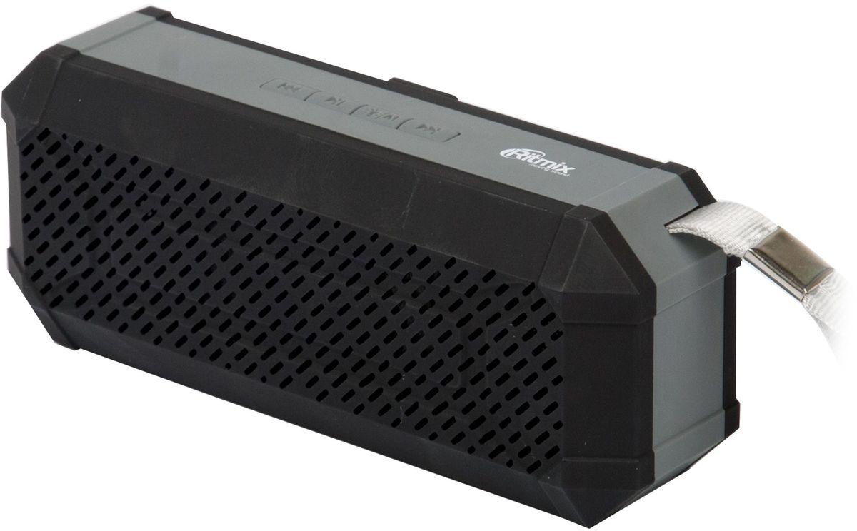 Ritmix SP-260B, Black портативная акустическая система15118769Компактная акустическая мини-колонка Ritmix SP-260B с ярким дизайном и чистым звучанием.Совместима с большинством аудио и мультимедийных устройств, а компактные размеры позволяют всегда брать ее с собой. На верхней грани корпуса расположилась удобная панель управления. Встроенный литий-ионный аккумулятор ёмкостью 400 мАч и компактные размеры позволяют использовать устройство в стационарных и мобильных условиях работы.