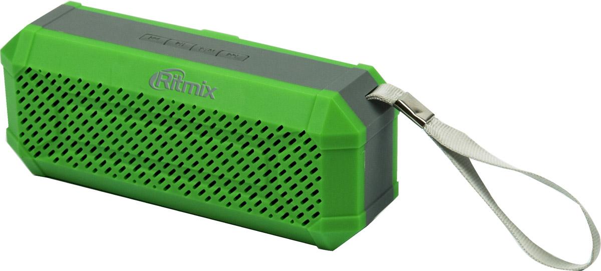 Ritmix SP-260B, Army Khaki портативная акустическая система15118771(BTH+TF+USB+AUX+FM) Портативная Bluetooth 2.1+EDR миниколонка, встр FM радио, мощн 6 Вт(2*3Вт 40мм),диап.част.100-20000 Гц, мр3-плеер(с micro SD/USB),лин. вход AUX 3,5мм, Li-ion акк400мАч, с ремешком-петлей для путешествий, цвет-армейский хаки