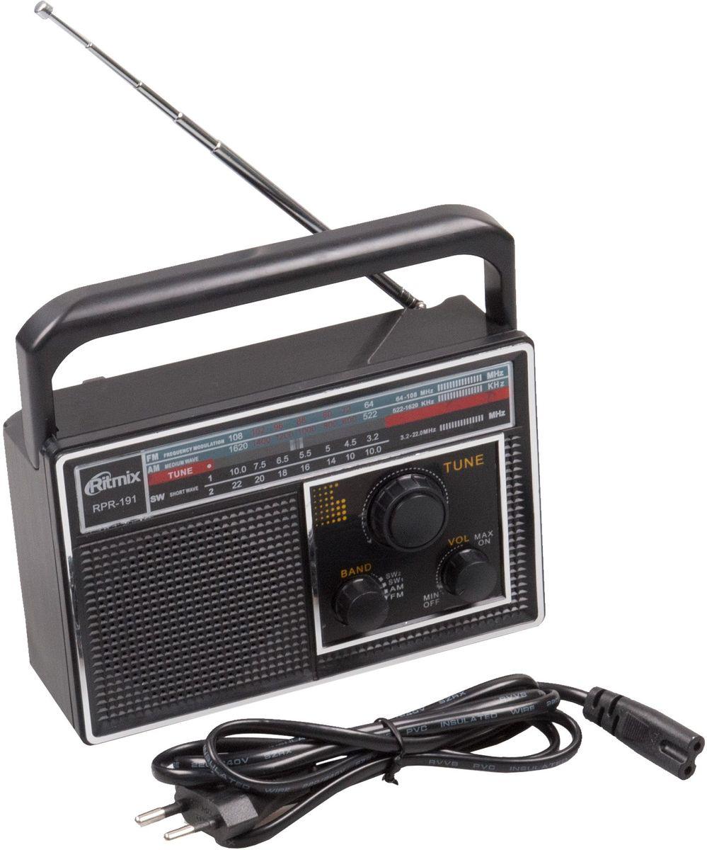 Ritmix RPR-191 радиоприемник15118946Радиоприемник RPR-191