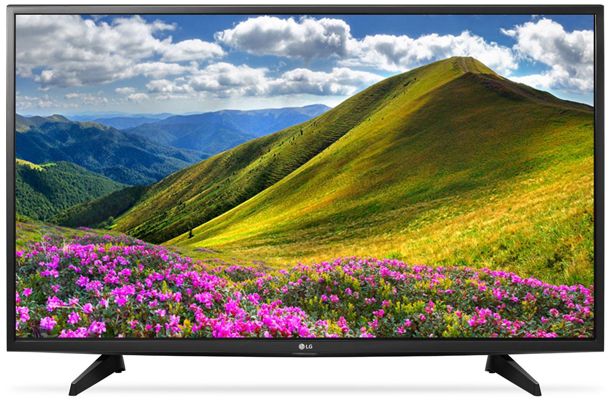 LG 49LJ510V телевизор90000002063С LG 49LJ510V вы можете воспроизводить фильмы, музыку и фото максимально удобным способом - прямо с USB-флэшки или жесткого диска.Телевизор оснащен портами HDMI - для максимального качества звука и картинки. HDMI - это мультимедийный интерфейс высокой четкости. Единый стандарт HDMI позволяет получать новому телевизору LG максимально четкий аудио и видеосигнал.По-новому глубокие и насыщенные цвета. Помимо улучшения цветопередачи, уникальные технологии обработки изображения отвечают за регулировку тона, насыщенности и яркости.Революционное качество изображения и цвета. Разрешение Full HD 1080p отвечает стандартам высокой четкости, отображая на экране 1080 (прогрессивных) линий разрешения, для более четкого и детального изображения.Улучшить изображение? Запросто! При использовании механизма масштабирования разрешения Resolution Upscaler изображения любого качества выглядят существенно лучше.Virtual Surround - звук, меняющий реальность. Функция Virtual Surround создает реалистичный, объемный звук. Вы словно переноситесь в новую реальность, где ярко ощущаются все биты и полутона.Встроенные игры для яркого отдыха. С LG 49LJ510V вам доступно максимум развлечений. Больше бесплатных игр для вашего нового телевизора - на официальном сайте LG.
