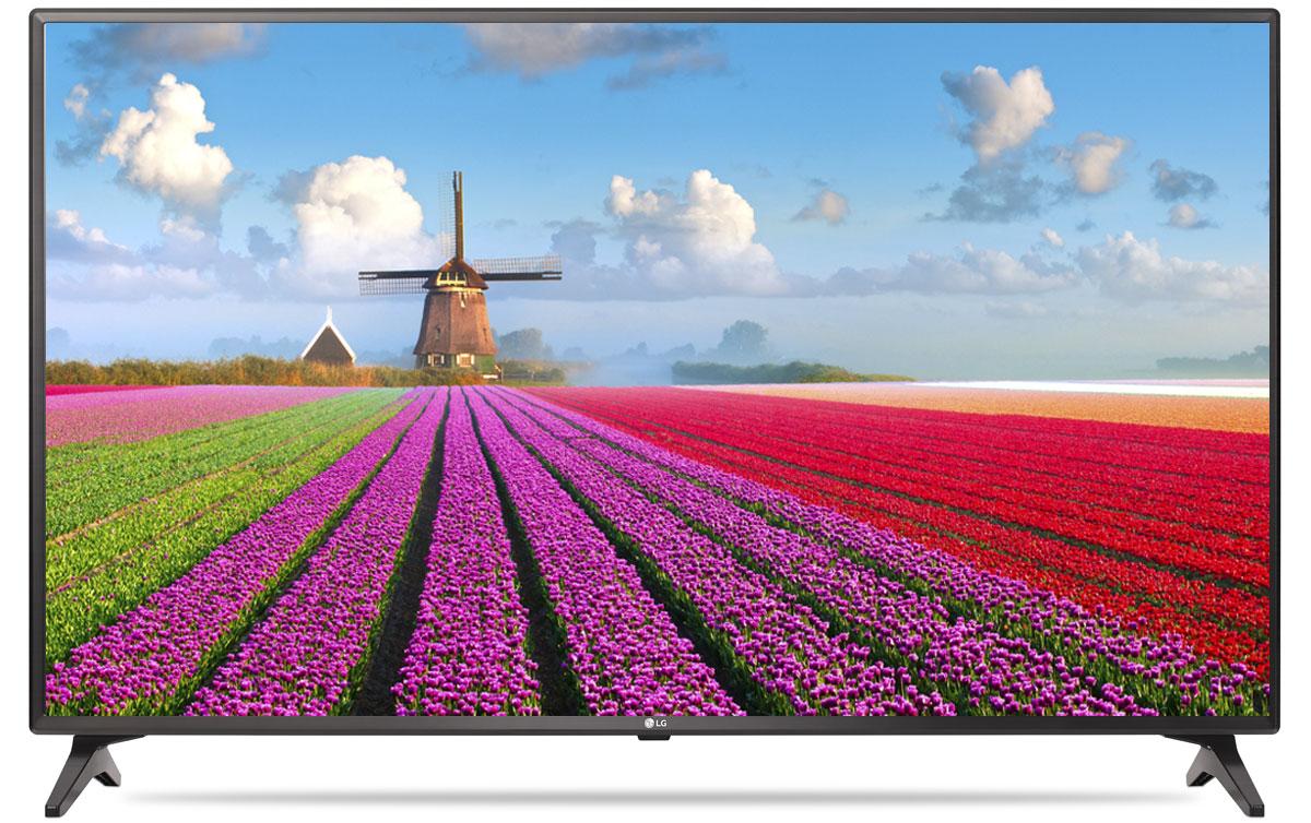 LG 49LJ610V телевизор90000002064С LG 49LJ610V вы можете воспроизводить фильмы, музыку и фото максимально удобным способом - прямо с USB-флэшки или жесткого диска.Телевизор оснащен портами HDMI - для максимального качества звука и картинки. HDMI - это мультимедийный интерфейс высокой четкости. Единый стандарт HDMI позволяет получать новому телевизору LG максимально четкий аудио и видеосигнал.Современный пульт Magic Remote и обновлённый интерфейс webOS 3.5 создают максимальный комфорт для погружения в новый яркий мир: самое время окунуться в интригующий сюжет.По-новому глубокие и насыщенные цвета. Помимо улучшения цветопередачи, уникальные технологии обработки изображения отвечают за регулировку тона, насыщенности и яркости.Революционное качество изображения и цвета. Разрешение Full HD 1080p отвечает стандартам высокой четкости, отображая на экране 1080 (прогрессивных) линий разрешения, для более четкого и детального изображения.Улучшить изображение? Запросто! При использовании механизма масштабирования разрешения Resolution Upscaler изображения любого качества выглядят существенно лучше.Звук, который волнует. Технология Virtual Surround Plus создает у зрителя ощущение, будто звук льется со всех сторон. Благодаря эффекту присутствия, кажется, что ты в толпе на выступлении любимой группы или в студии звукозаписи.Гладкий, тонкий, бесшовный — этими словами можно описать дизайн LG 49LJ610V. Безупречный корпус идеально обрамляет монитор, не отвлекая от картинки на экране.