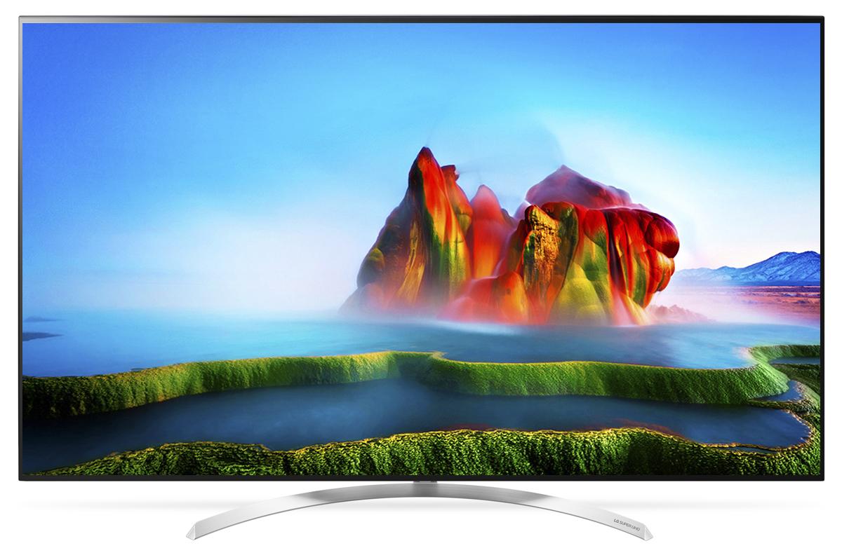 LG 55SJ930V телевизор90000002071Телевизор LG 55SJ930V с технологией Nano Cell - новый стандарт LED TV. Данная технология обеспечивает точные и яркие цвета с широчайшими углами обзора.Технология Nano Cell, благодаря наночастицам, доводит качество передачи цвета до максимума. Испытайте всю силу цвета, переданного с точностью и без искажений.Цвета впечатляют - миллиард насыщенных оттенков. Вас ожидает полное погружение в жизнь на экране, благодаря живому цвету: более миллиарда оттенков создают по-настоящему реалистичную картинку.У зрителей, собравшихся перед телевизором LG 55SJ930V, нет преимуществ друг перед другом, где бы они ни находились. Возможность насладиться насыщенным цветом и высокой контрастностью под любым углом — вот в чем их общее преимущество. Где бы вы ни расположились, удовольствие от просмотра будет гарантировано. Технология Nano Cell улучшает внеосевые характеристики насыщенности цветов и предотвращает их искажение при изменении угла просмотра.Технология Active HDR поддерживает классические форматы HDR10 и HLG и премиальный Dolby Vision. Active HDR — собственная технология LG. Она оптимизирует видеопоток под каждый конкретный эпизод, что делает картинку наиболее яркой и реалистичной.Одного взгляда на металлический корпус LG 55SJ930V с его прямыми линиями и плавными изгибами достаточно, чтобы понять: это не просто телевизор. Его сдержанная элегантность притягивает, даже когда экран выключен.Над встроенной звуковой системой телевизора трудились опытные аудиоинженеры. Благодаря сотрудничеству между LG и компанией harman/kardon теперь можно получить чистый, мощный звук с полным диапазоном частот у себя дома.Современный пульт Magic Remote и обновлённый интерфейс webOS 3.5 создают максимальный комфорт для погружения в новый яркий мир: самое время окунуться в интригующий сюжет.