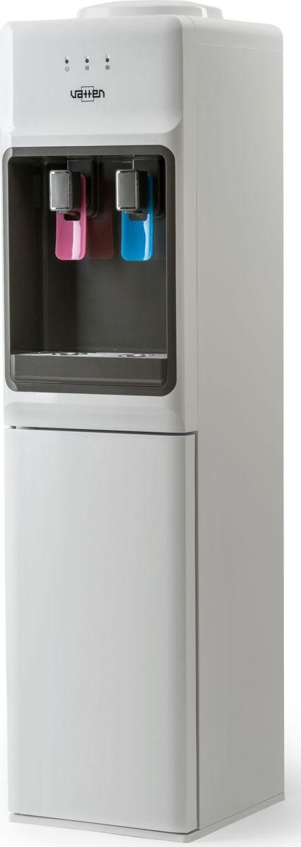 Vatten V44 WК, White кулер для воды4581Кулер VATTEN V44 WК с верхней загрузкоймощность нагрева 650 ВТ, охлаждения 100 вт. Произ-ть хол/гор- 4,5/6,3 л/часкомпрессорное охлаждение, пуш кран, напольный