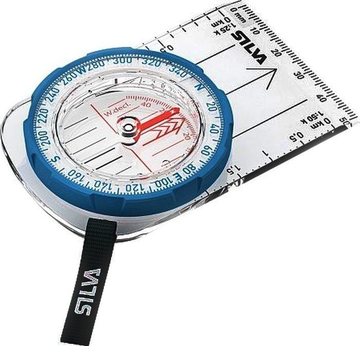 "Компас Silva ""Compass Field"", цвет: синий"