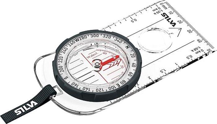 Компас Silva Compass Ranger, цвет: черный37461Планшетный компас-меридиональные линии на корпусе для быстрого определения направления-Светящиеся отметки для точного ориентирования в темноте-Нестирающиеся шкалы и градуировка-Оправа компаса из материала Dryflex™-Встроенная лупа-Подсвеченая стрелка-Запатентованные красно-черные ориентировочные лини внутри оправы компаса.-Измерительные линейки для карты в мм и дюймах 1:50.000 и 1:25.000.