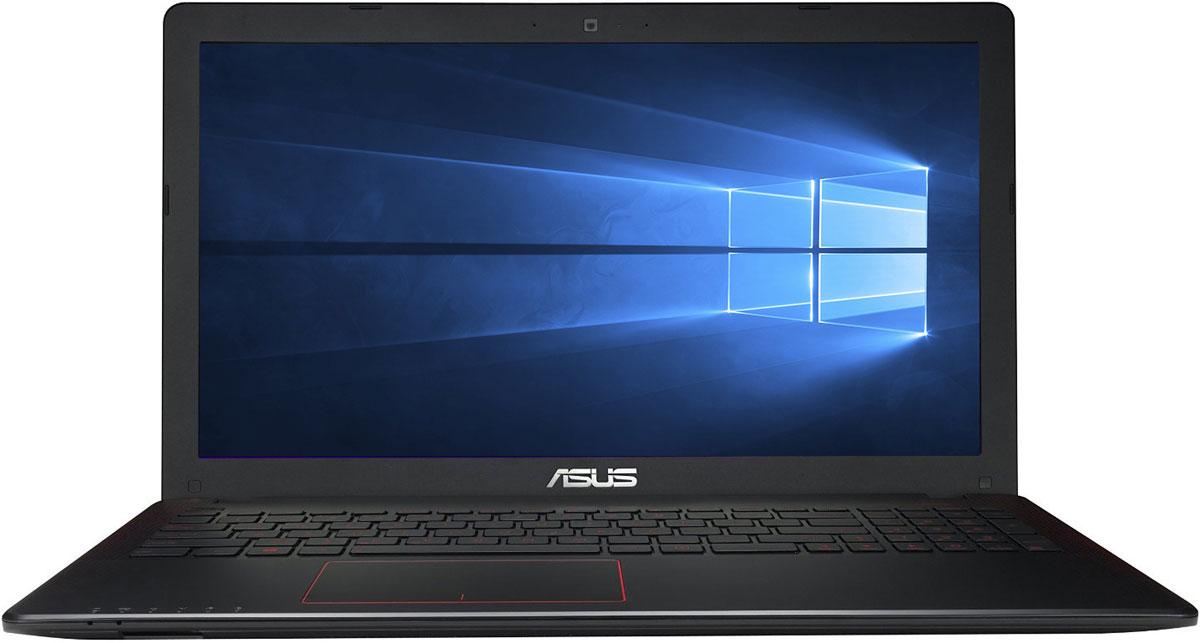 ASUS K550VX, Black Red (K550VX-DM368T)K550VX-DM368TASUS K550VX - высокопроизводительный ноутбук, который выводит качество работы, развлечений и игр на новый уровень.Система ASUS Splendid позволяет мгновенно выбирать оптимальные настройки яркости, контрастности и цветности изображения, переключаясь между предустановленными профилями.Внутри корпуса расположена стереосистема, состоящая из четырех мощных динамиков. Аудиосистема регулируется посредством программы Maxxaudio и утилитой дополнительных настроек звука AudioWizard.Технология ASUS Super Hybrid Engine II дает ноутбуку возможность находиться в режиме сна до 2 недель и автоматически сохранять данные при падении заряда до критического уровня. Его повторная активация отнимает всего две секунды, за счет чего пользователь может мгновенно возвращаться к работе.Ноутбук снабжен большим количеством портов для подключения периферийного оборудования - в том числе монитора высокого разрешения, проектора и высокоскоростных накопителей информации.Поддерживается беспроводной Интернет по технологии WiFi и передача данных между мобильными устройствами по радиоканалу Bluetooth 4.0. Предустановленный привод для лазерных дисков может читать и записывать формат DVD.Точные характеристики зависят от модификации.Ноутбук сертифицирован EAC и имеет русифицированную клавиатуру и Руководство пользователя.