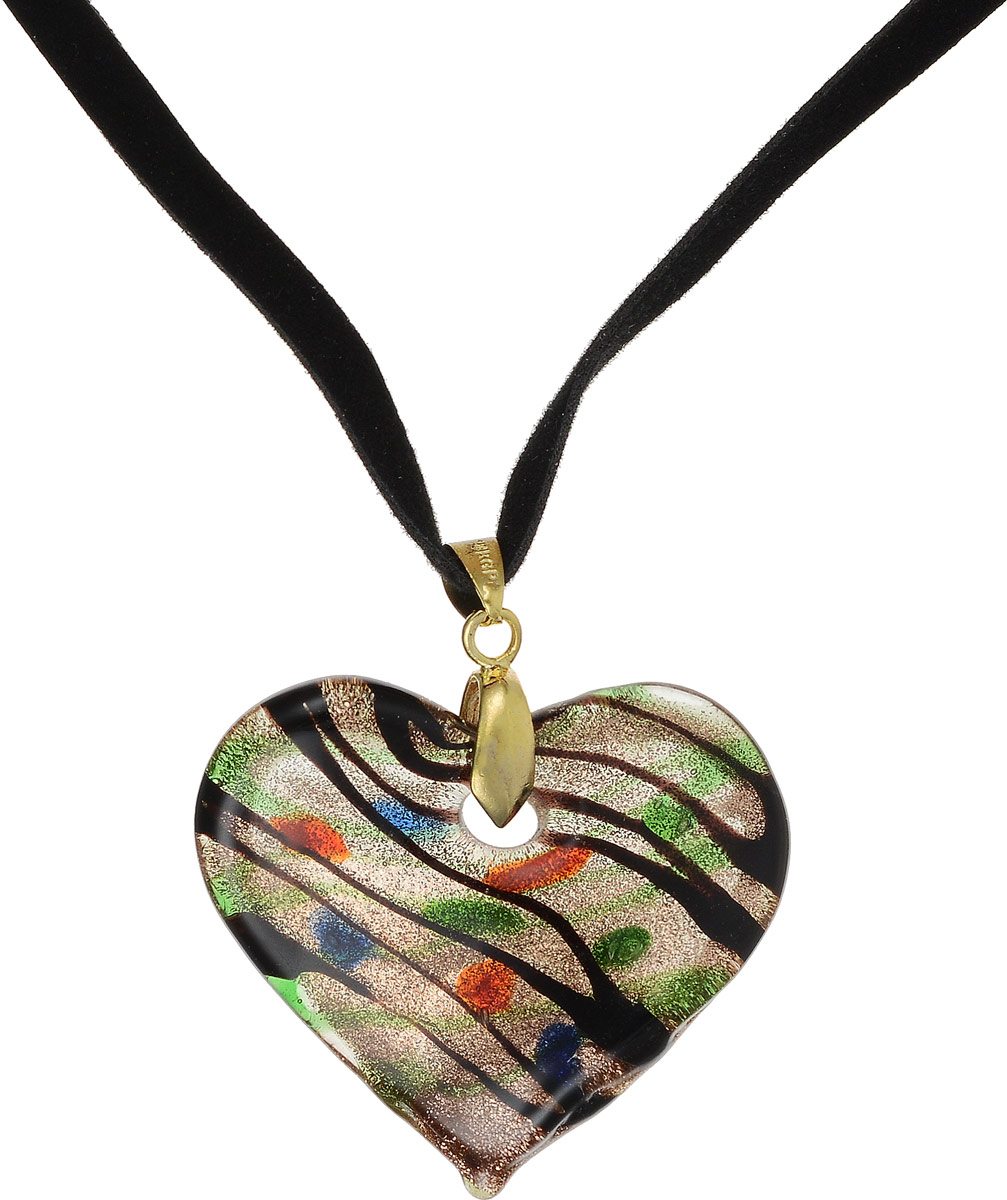 Кулон на шнурке Сердце. Муранское стекло, велюровый шнурок, ручная работа. Murano, Италия (Венеция)Брошь-инталияКулон на шнурке Сердце.Муранское стекло, велюровый шнурок, ручная работа.Murano, Италия (Венеция).Размер:Кулон - 4 х 3,5 см.Шнурок - полная длина 48 см.