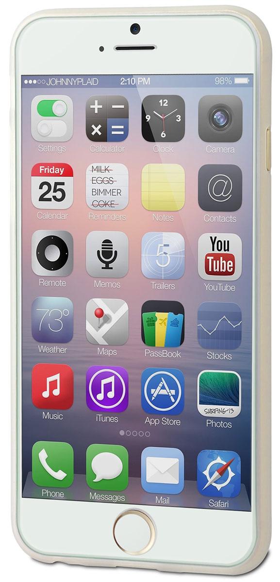 Muvit Thingel Case чехол для Apple iPhone 6/6s, ClearMUSKI0323Чехол-накладка Muvit Thingel Case для Apple iPhone 6/6s обеспечивает надежную защиту корпуса смартфона от механических повреждений и надолго сохраняет его привлекательный внешний вид. Накладка выполнена из высококачественного материала, плотно прилегает и не скользит в руках. Чехол также обеспечивает свободный доступ ко всем разъемам и клавишам устройства.