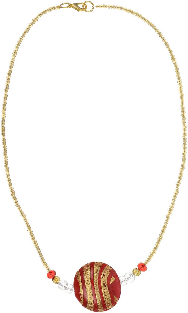 Колье Грация. Муранское стекло, бисер, ручная работа. Murano, Италия (Венеция)Колье (короткие одноярусные бусы)Колье Грация.Муранское стекло, бисер, ручная работа.Murano, Италия (Венеция).Размер: полная длина 45 см.Каждое изделие из муранского стекла уникально и может незначительно отличаться от того, что вы видите на фотографии.
