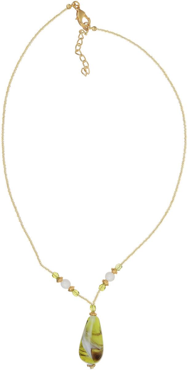 Колье Тоскана. Муранское стекло, бисер, ручная работа. Murano, Италия (Венеция)Колье (короткие одноярусные бусы)Колье Тоскана.Муранское стекло, бисер, ручная работа.Murano, Италия (Венеция).Размер: полная длина 42-47 см, размер регулируется за счет застежки-цепочки.Каждое изделие из муранского стекла уникально и может незначительно отличаться от того, что вы видите на фотографии.