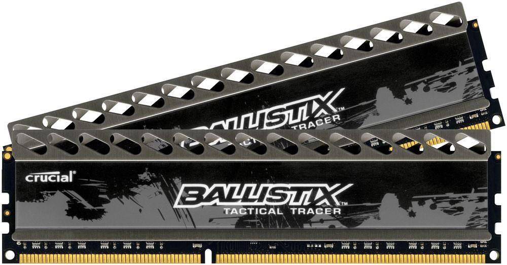 Crucial Ballistix Tactical Tracer DDR3 2x4Gb 1600 МГц комплект модулей оперативной памяти (BLT2CP4G3D1608DT2TXOBCEU)