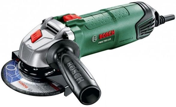 Угловая шлифмашина Bosch PWS 750-125 (06033A2422) bosch pws 750 125