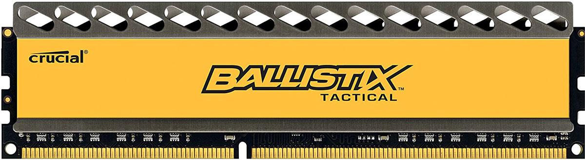 Crucial Ballistix Tactical DDR3 4Gb 1600 МГц модуль оперативной памяти (BLT4G3D1608DT1TX0CEU)