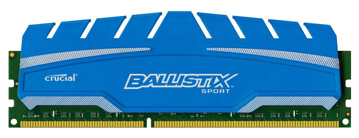 Crucial Ballistix Sport XT DDR3 4Gb 1866 МГц модуль оперативной памяти (BLS4G3D18ADS3CEU)BLS4G3D18ADS3CEUМодуль оперативной памяти Crucial Ballistix Sport XT типа DDR3 предоставляет качество работы, надежность и производительность, требуемую для современных компьютеров сегодня. Оснащен теплоотводом, выполненным из чистого алюминия, что ускоряет рассеяние тепла.Модуль работает при тактовой частоте 1866 МГц и пропускной способности, достигающей до 14900 Мб/с, что гарантирует качественную синхронизацию и быструю передачу данных, а также возможность выполнения множества действий в единицу времени. Параметры тайминга 10-10-10-30 гарантируют быструю работу системы.