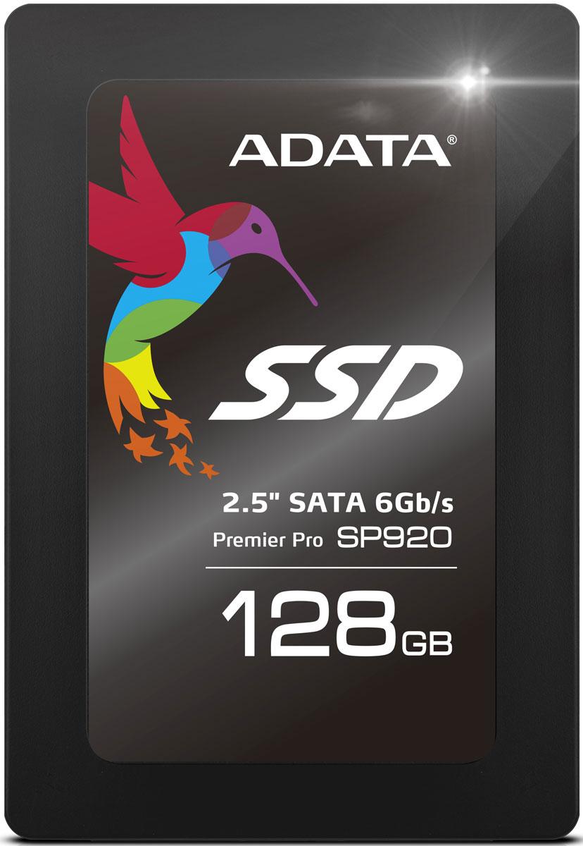 ADATA Premier Pro SP920 128GB SSD-накопитель (ASP920SS3-128GM-C)ASP920SS3-128GM-CТвердотельный накопитель (SSD) серии Premier Pro SP920 обеспечивает высокую производительность при передаче мультимедийных файлов. Он оснащен контроллером Marvell новейшего поколения, реализующим спецификацию SATA III 6Гбит/с.Строгий отбор чипов флэш-памяти позволяет добиться повышения эффективности и быстродействия всей системы, особенно при передаче (несжатых) мультимедийных файлов. Этот SSD-накопитель, гарантирующий скорости произвольного чтения/записи 4-кбитных блоков до 98000/88000 IOPS (операций В/В в секунду), является идеальным накопителем с точки зрения производительности, стабильности и защиты данных.SSD-накопитель обеспечивает прекрасную производительность для систем архивации данных и редактировании видеоконтента. Поддержка скоростей произвольного 4-кбитного чтения/записи до 91000/77000 IOPS (операций В/В в секунду) означает более высокую скорость загрузки программ, запуска системы и превосходную эффективность самых новейших компьютерных игр.Некоторые SSD-накопители страдают снижением производительности по мере заполнения объема памяти. Накопитель SP920 сохраняет стабильно высокие скорости чтения/записи данных, даже когда диск заполнен на 90%.Оптимизированная микропрограмма обеспечивает полное использование всей емкости памяти чипа NAND Flash, что позволяет увеличить доступный объем памяти на 7% по сравнению с накопителями многих других моделей.Накопитель SP920 прекрасно подходит для установки в 7-мм дисковые отсеки SATA. Он также поставляется с 2,5-мм держателем, позволяющим устанавливать его в дисковые отсеки 9,5 мм.Выпускается с 3,5-дюймовым переходным адаптером для монтажа SP920, обеспечивающим быструю модернизацию настольного компьютера для повышения производительности и скорости передачи данных вашей операционной системы.Максимальные перегрузки: 1500GMTBF: 1,2 млн. часов