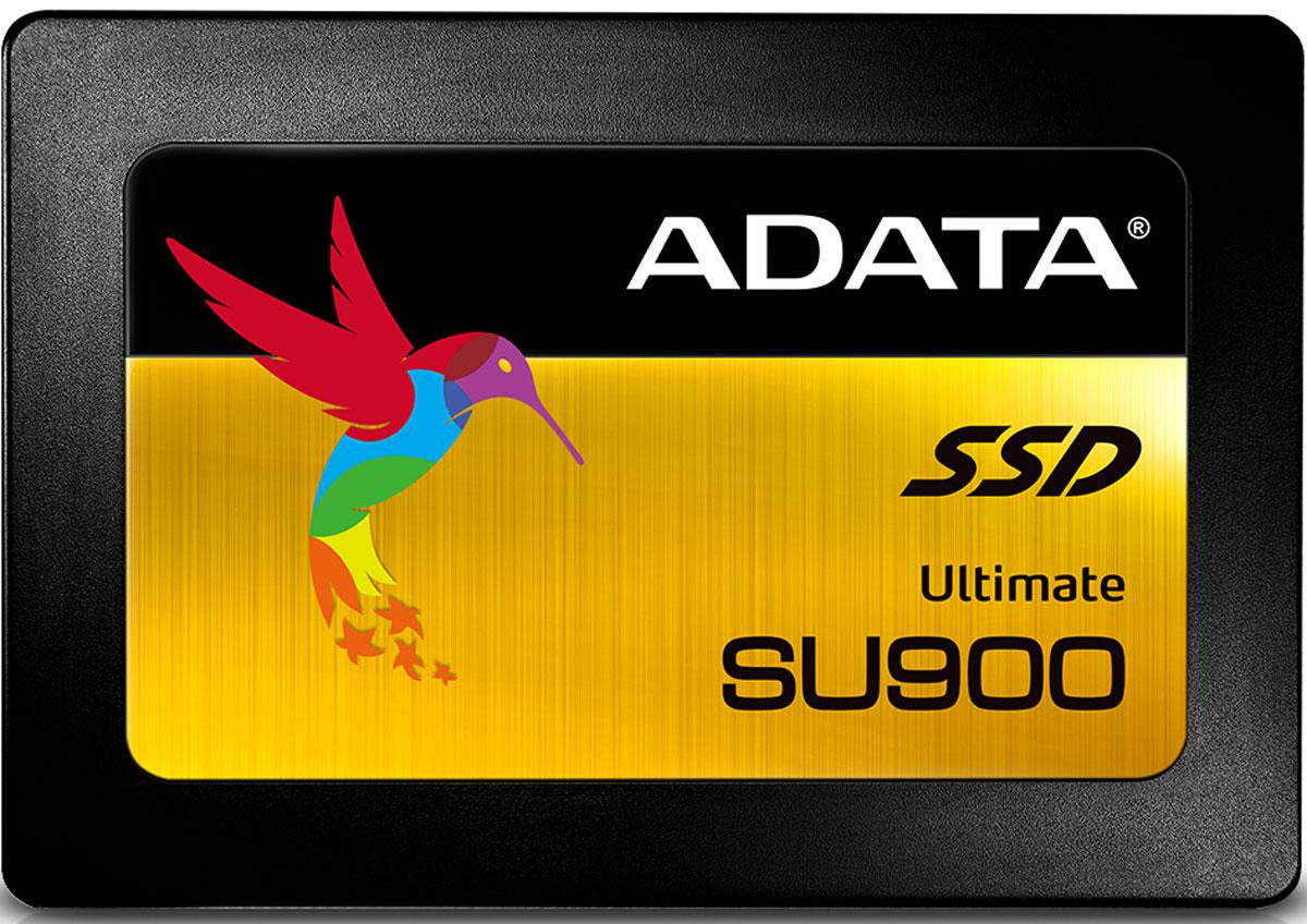 ADATA Ultimate SU900 512GB SSD-накопитель (ASU900SS-512GM-C)ASU900SS-512GM-CВ твердотельных накопителях Ultimate SU900 используются флэш-память 3D MLC NAND и контроллер SMI, что обеспечивает емкость до 2 Тб, быструю скорость обработки и высокую надежность работы. Более того, накопитель поддерживает интеллектуальную технологию SLC-кэширования и кэш-буфер DRAM для ускорения процессов чтения/записи до 560/525 Мб в секунду.Благодаря поддержке функции LDPC ECC и технологии защиты различных данных, накопитель SU900 обеспечивает высокий уровень TBW (общее количество считанных байт) и сразу же повышает характеристики ноутбука или настольного ПК за счет превосходной стабильной работы, долгого срока службы и эффективного использования энергии.Интеллектуальный алгоритм SLC-кэширования позволяет используемой флэш-памяти NAND эффективно работать в SLC-режиме с существенным повышением скоростей чтения/записи данных. Кроме того, благодаря поддержке кэш-буфера DRAM характеристики считывания/записи могут быть в два раза выше по сравнению с твердотельными накопителями, не имеющими кэша DRAM, т.е. не способными использовать встроенную память в качестве буфера SSD для выполнения задач на высоких скоростях.Благодаря высококачественным материалам и передовым технологиям, накопитель SU900 имеет преимущества перед традиционными жесткими дисками по многим параметрам, в частности, по времени загрузки и установки, а также по общему объему считывания/записи на гораздо более высоких скоростях.Благодаря использованию LDPC (кода коррекции ошибок с контролем четности с низкой плотностью), накопитель SU900 значительно снижает количество ошибок при передаче информации и в равной степени повышает ее целостность. Таким образом, накопитель защищает ваши ценные данные от повреждений на более высоком уровне, чем SSD-накопители без механизма ECC или даже SSD-накопители, в которых используется базовый механизм коррекции ошибок BCH.Накопитель SU900 поддерживает технологию защиты различных данных, включая ше