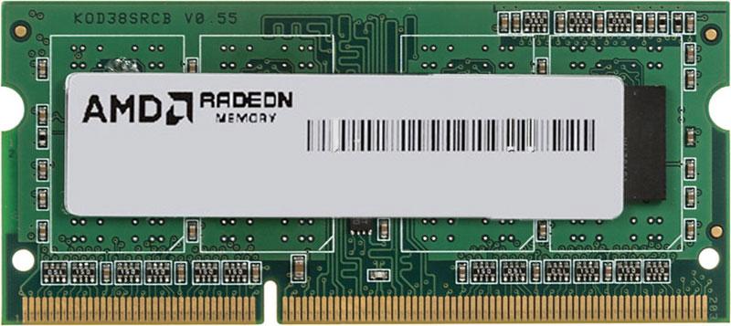 AMD Radeon SO-DIMM DDR3 4GB 1600MHz модуль оперативной памяти (R534G1601S1S-UGO)R534G1601S1S-UGOРасширьте возможности имеющегося оборудования путем простого и экономичного обновления памяти от AMD.Работаете ли вы в Интернете, смотрите ли потоковое видео в потрясающем HD-качестве или играете в самые требовательные видеоигры - память AMD Radeon настроена на обеспечение максимальной производительности процессора, что является залогом быстрой и невероятно плавной работы ПК.Последовательность загрузки опирается на стандартные частоты и временные соотношения DDR3, что помогает обеспечить функциональность и стабильность системы.Разработка и тестирование в соответствии с высочайшими стандартами для обеспечения оптимальной работы на новейших платформах AMD и функциональное тестирование на платформах конкурентов.Максимально используйте потенциал имеющейся памяти и наслаждайтесь быстрой загрузкой и сохранением своих любимых приложений. После установки любой памяти AMD Radeon можно использовать до 6 ГБ Radeon RAMDisk.