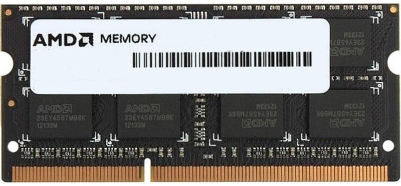 AMD Radeon SO-DIMM DDR3 8GB 1866MHz модуль оперативной памяти (R738G1869S2S-UO)