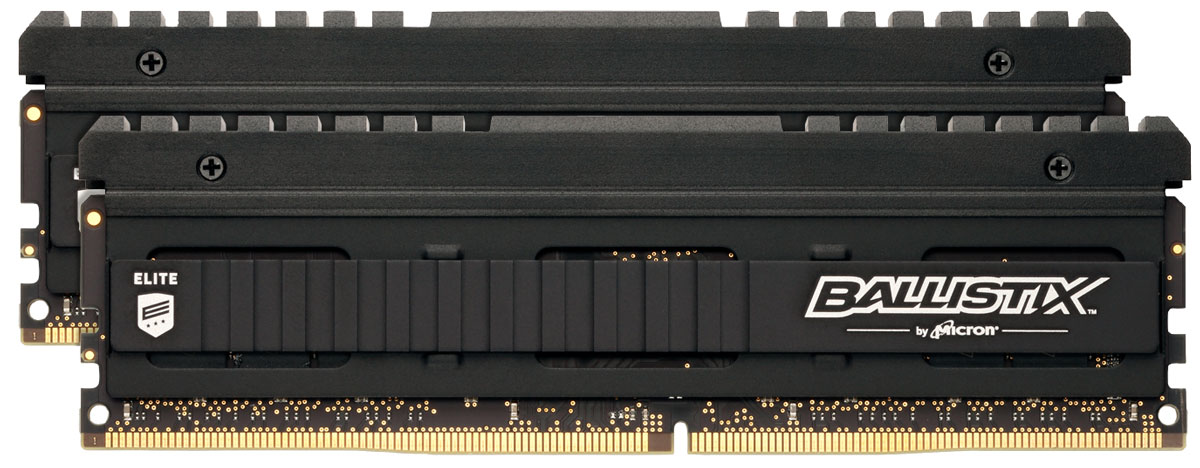 Crucial Ballistix Elite DDR4 2x4Gb 2666 МГц комплект модулей оперативной памяти (BLE2C4G4D26AFEA)