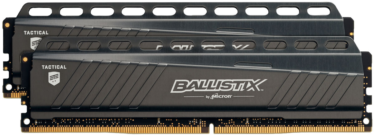 Crucial Ballistix Tactical DDR4 2x4Gb 2666 МГц комплект модулей оперативной памяти (BLT2C4G4D26AFTA)