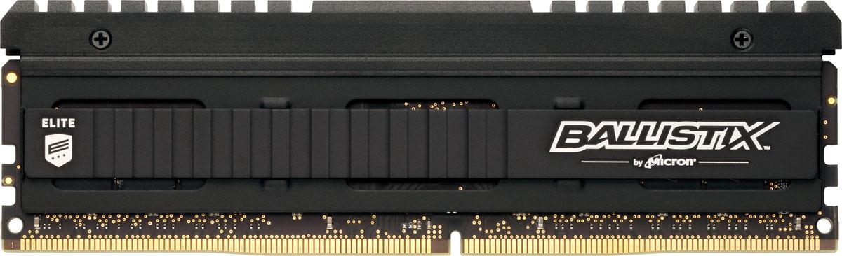 Crucial Ballistix Elite DDR4 8Gb 2666 МГц модуль оперативной памяти (BLE8G4D26AFEA)BLE8G4D26AFEAМодуль оперативной памяти Crucial Ballistix Elite типа DDR4 обеспечивает увеличенную рабочую частоту (по сравнению с предыдущем поколением) при сниженном тепловыделении и экономном энергопотреблении. Благодаря низкому напряжению (1,2 В), снижается потребление энергии, что обеспечивает отсутствие нагрева и бесшумную работу ПК. Теплоотвод выполнен из чистого алюминия, что ускоряет рассеяние тепла.Объем памяти в 8 ГБ позволит свободно работать со стандартными, офисными и профессиональными ресурсоемкими программами, а также современными требовательными играми. Работа осуществляется при тактовой частоте 2666 МГц и пропускной способности, достигающей до 21300 Мб/с, что гарантирует качественную синхронизацию и быструю передачу данных, а также возможность выполнения множества действий в единицу времени. Параметры тайминга 16-17-17 гарантируют быструю работу системы. Имеется поддержка XMP 2.0 для удобного разгона в автоматическом режиме.