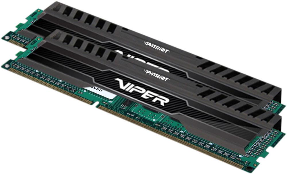 Patriot Viper 3 Black Mamba DDR3 2x4Gb 1866 МГц комплект модулей оперативной памяти (PV38G186C0K)PV38G186C0KМодули оперативной памяти Patriot Viper 3 DDR3 полностью совместимы с процессорами и чипсетами Intel и AMD. Обеспечивают наилучшую производительность и стабильность даже для самых требовательных компьютерных сред. Радиатор модуля ускоряет рассеивание тепла. Общий объем памяти составляет 8 ГБ, что позволит свободно работать со стандартными, офисными и профессиональными ресурсоемкими программами, а также современными требовательными играми. Работа осуществляется при тактовой частоте 1866 МГц и пропускной способности, достигающей до 15000 Мб/с, что гарантирует качественную синхронизацию и быструю передачу данных, а также возможность выполнения множества действий в единицу времени. Параметры тайминга 10-11-10-30 гарантируют быструю работу системы.Имеется поддержка XMP для удобного разгона в автоматическом режиме.Модули памяти Patriot изготовлены из материалов высочайшего качества и протестированы вручную. Patriot заверяет, что каждый модуль памяти соответствует и превышает стандарты отрасли: апгрейд безо всяких замешательств.