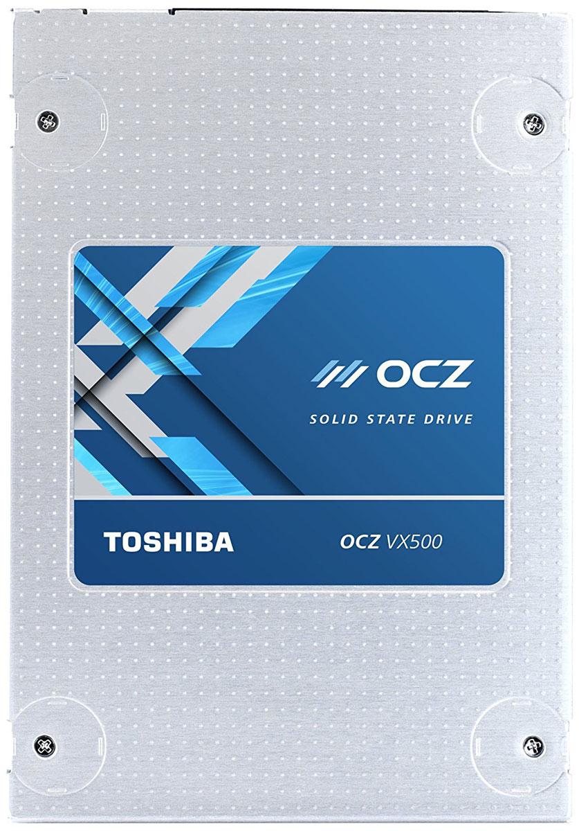 OCZ VX500 512GB SSD-накопитель (VX500-25SAT3-512G)VX500-25SAT3-512GТвердотельный накопитель OCZ VX500 представляет собой высокопроизводительное и энергоэффективное решение для хранения данных, позволяющие повысить производительность работы домашних компьютеров и ноутбуков.Данная модель значительно повышает скорость работы системы, обеспечивая более высокую скорость запуска, загрузки и передачи данных по сравнению с механическими жесткими дисками.В накопителях применяются микрочипы флеш-памяти Toshiba MLC NAND (многоуровневые ячейки), изготовленные по 15-нанометровой технологии. Задействован контроллер Toshiba TC358790.Устройства характеризуются толщиной корпуса 7 мм, благодаря чему подходят для использования не только в настольных компьютерах, но и в ноутбуках .