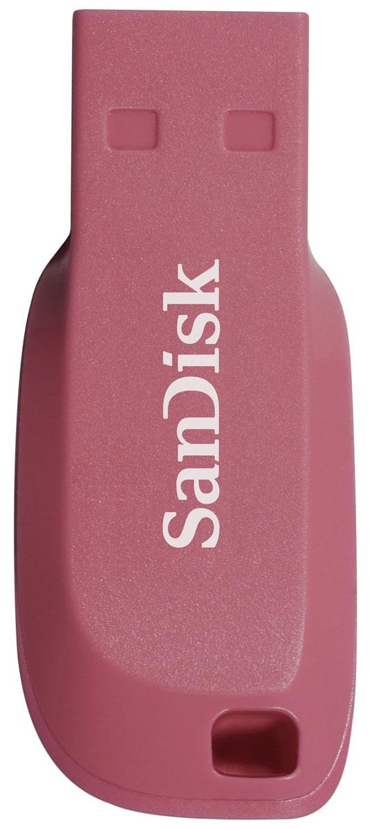 SanDisk Cruzer Blade 64GB, Pink USB-накопитель