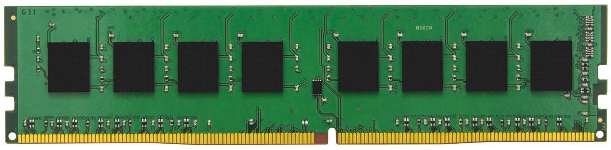 Kingston ValueRAM DDR4 4GB 2133МГц модуль оперативной памяти (KVR21N15S8/4)KVR21N15S8/4Модуль оперативной памяти является оптимальным выбором для процессоров, требующих большую скорость вычислений. Ярким доказательством этого является способность пропускать поток данных со скоростью 17000 Mб/с.Специалисты Kingston приложили максимум усилий, чтобы использование их памяти служило гарантией стабильной работы ПК и отсутствия ошибок в работе системы. Память отличается довольно низким потреблением энергии, значение которого не превышает 1.2 В.