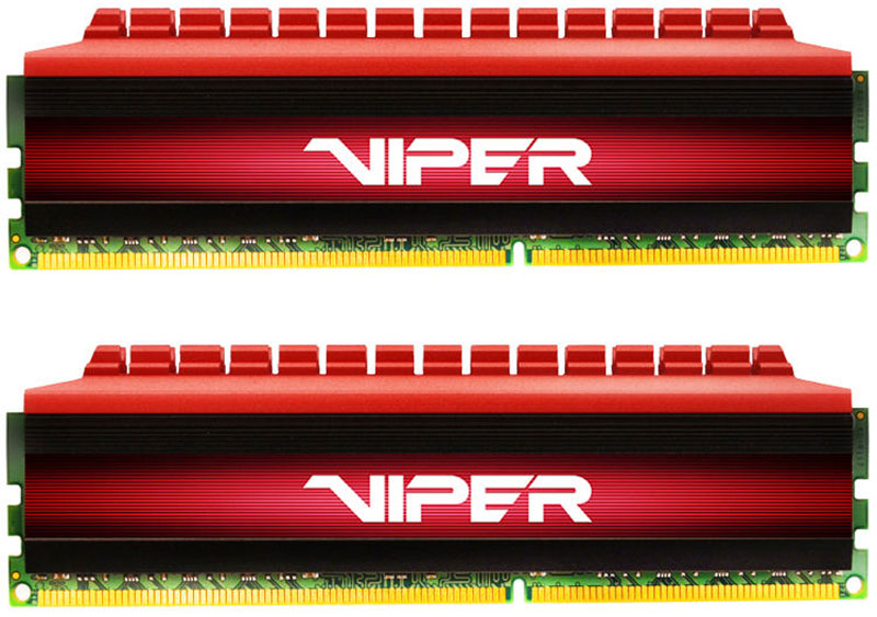 Patriot Viper 4 DDR4 2x4Gb 2666МГц модуль оперативной памяти (PV48G266C5K)