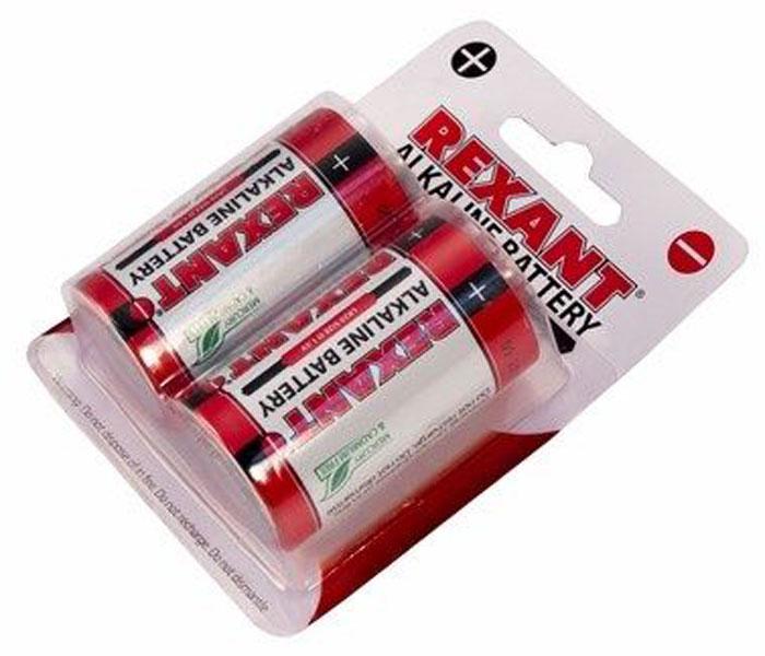 Батарейка алкалиновая Rexant, тип D (LR20), 1,5В, 2 шт30-1020Щелочные (алкалиновые) батарейки оптимально подходят для повседневного питания множества современных бытовых приборов: электронных игрушек, фонарей, беспроводной компьютерной периферии и многого другого. Не содержат кадмия и ртути. Батарейки созданы для устройств со средним и высоким потреблением энергии. Работают в 10 раз дольше, чем обычные солевые элементы питания. Номинальное напряжение: 1,5 V. В комплекте - 2 батарейки.