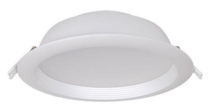 Светильник светодиодный Jazzway PLED DL2, даунлайт, IP40, 2300 Лм, 4000K, 28 Вт.1026927AJazzway Даунлайт PLED DL2 28W Fr/Wh 4000K/2300Lm IP40 230V/50Hz