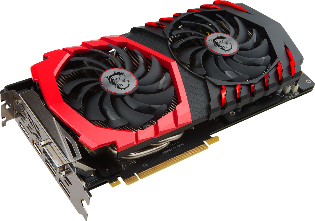 MSI GeForce GTX 1060 Gaming X+ 6G 6GB видеокарта