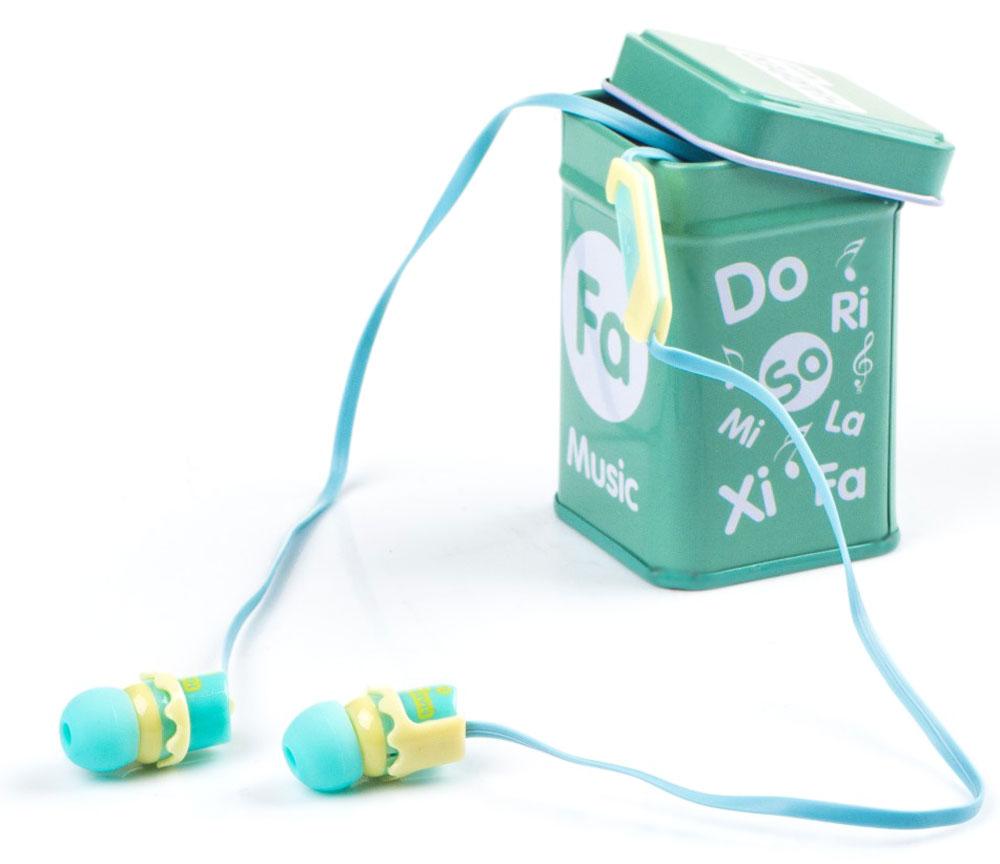 Harper Kids HK-66, Light Blue наушники00-00001209Наушники-вкладыши Harper Kids HK-66 перекрывают весь спектр слышимых человеческим ухом звуковых частот (они работают в диапазоне от 17 до 21 000 Гц). Это позволяет наслаждаться любимой музыкой даже тем, кто предъявляет повышенные требования к качеству звука.Встроенный микрофон превращает наушники Harper HK-66 в телефонную гарнитуру - ответ на звонок или завершение вызова производится при помощи кнопки на проводе наушников.Твердый футляр прямоугольной формы поставляется в комплекте с наушниками. В нем они не подвергаются негативному воздействию окружающей среды (не пылятся, не намокают, не запутываются в других вещах, как это бывает при переноске в сумочке или кармане).Яркие цветовые решения наушников и футляров делают этот аксессуар стильным и оригинальным дополнением к любой одежде, причем носить их могут как взрослые, так и дети.Одна единственная кнопка, которой оснащены наушники, выполняет сразу несколько функций: позволяет принимать/завершать звонки, перематывать и переключать треки, воспроизводить музыку, ставить трек на паузу.