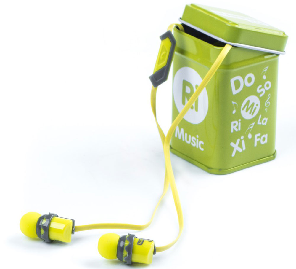 Harper Kids HK-66, Yellow наушники00-00001208Наушники-вкладыши Harper Kids HK-66 перекрывают весь спектр слышимых человеческим ухом звуковых частот (они работают в диапазоне от 17 до 21 000 Гц). Это позволяет наслаждаться любимой музыкой даже тем, кто предъявляет повышенные требования к качеству звука.Встроенный микрофон превращает наушники Harper HK-66 в телефонную гарнитуру - ответ на звонок или завершение вызова производится при помощи кнопки на проводе наушников.Твердый футляр прямоугольной формы поставляется в комплекте с наушниками. В нем они не подвергаются негативному воздействию окружающей среды (не пылятся, не намокают, не запутываются в других вещах, как это бывает при переноске в сумочке или кармане).Яркие цветовые решения наушников и футляров делают этот аксессуар стильным и оригинальным дополнением к любой одежде, причем носить их могут как взрослые, так и дети.Одна единственная кнопка, которой оснащены наушники, выполняет сразу несколько функций: позволяет принимать/завершать звонки, перематывать и переключать треки, воспроизводить музыку, ставить трек на паузу.