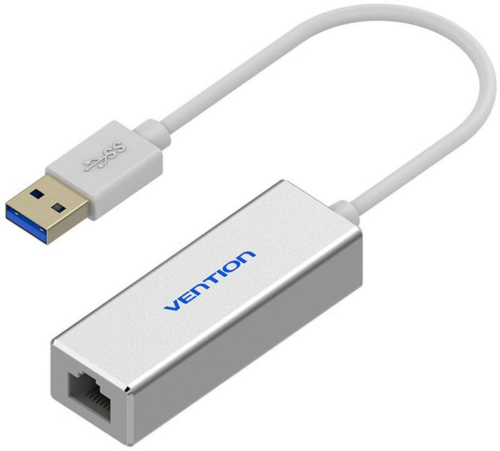 Vention USB 3.0 M - Gigabit Ethernet RJ45 F сетевой адаптер сетевой адаптер ethernet apple mc704zm a usb 2 0