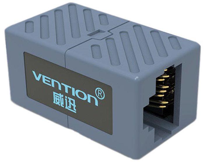 Vention RJ45 F - RJ45 F 8p8c кат. 6 соединительный адаптерVAM650Адаптер используется для коммутации сетевого кабеля, наращивания длины, или для устранения обрыва.Продукция соответствует следующим сертификатам: RoHS, CE, FCC, TIA, ISOСпецификация:Тип разъема: RJ45 F / RJ45 FКонтакты: позолоченныеСовместимость: RJ45(8p8c) - кат. 6Материал корпуса: АБС-пластикМатериал проводника: чистая бескислородная медьРазмер (мм): 30х17х15Цвет: серый