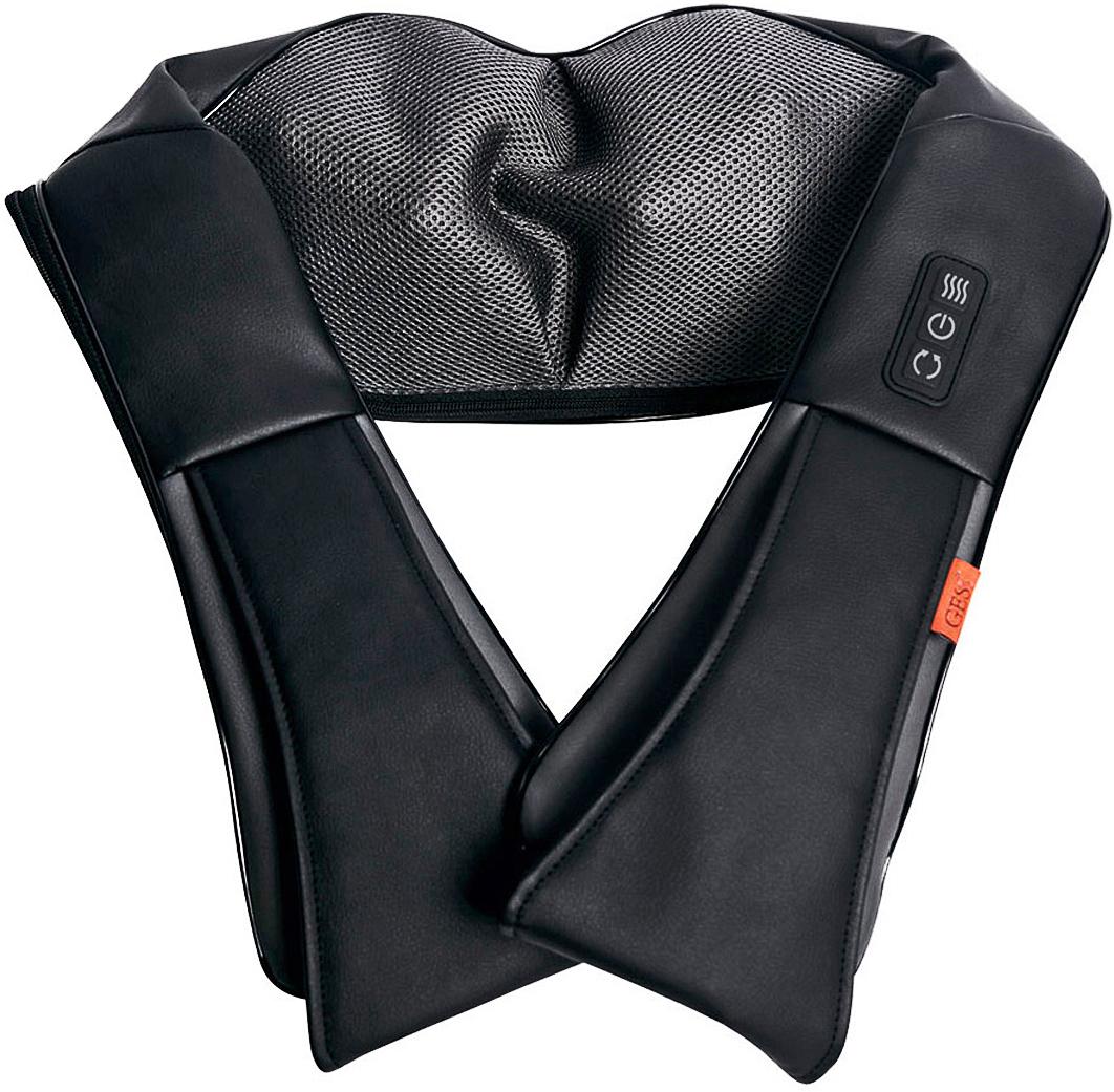 Gess Массажер для шеи и плеч KragenGESS-012Массаж без рук - глубокий 3D массаж. Акупунктурный массаж активных точек на теле. От сети 220В через адаптер.