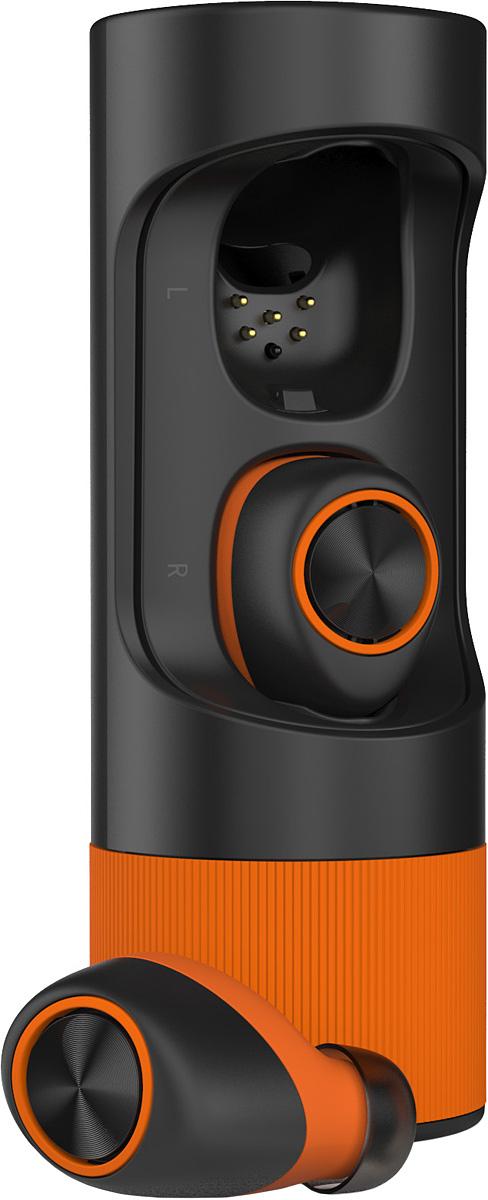 Motorola Verve Ones+, Black Orange bluetooth гарнитура00-00007887Беспроводная спортивная стерео гарнитураИнновационный стильный дизайн;3,5 часа работы от собственных батарей и 12 часов работы с дозарядкой от защитного Power-case; Встроенный двойной микрофон для звонков;Приложение для iOS и Android;Надежная пыле/влага защита, которая обеспечивает работаспособность при занятиах спортом и тренировках (IP-57);3 амбушюры для выбора идеальной посадки;Спортивный Power-case.