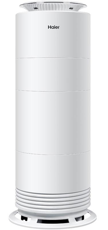 Haier HJS20U/AM1 воздухоочистительHJS20U/AM1В помещении загрязненный или слишком сухой воздух? Витают неприятные запахи? Вам поможет многофункциональный модульный очиститель Haier HJS20U/AM1.Прибор можно использовать во время сна (работает практически бесшумно), есть возможность дистанционно включить аппарат (скажем, за час до вашего возвращения домой), функция ароматизации воздуха позволит избавить ваш дом от неприятных запахов, а функция очистки избавит помещение от бактерий и пыли.Пользователь может выбирать оптимальный режим работы с помощью сенсорной панели, расположенной в верхней части прибора, или через специальное мобильное приложение. Увлажнитель синхронизируется со смартфоном через Wi-Fi.В приборе предусмотрен автоматический режим работы, а также функции Здоровье и Ночь, которые позволяют поддерживать повышенный уровень влажности и снижают уровень шума соответственно.Встроенный ароматизатор помогает создавать в помещении максимально комфортную обстановку. Таймер отключения снижает потребление электроэнергии, а гигрометр обеспечивает удобный контроль влажности.