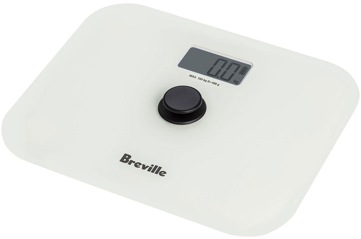 Breville N360 напольные весы67933Напольные весы Breville N360 – уникальная модель, не нуждающаяся в применении батарей. Она снабжена большой кнопкой включения, которая вырабатывает электрический разряд при нажатии. Одного импульса хватает для единичного взвешивания.Платформа прибора изготовлена из ударопрочного закалённого стекла. Она выдерживает статические нагрузки до 150 килограммов и не растрескивается при случайном падении твёрдого предмета на её поверхность.Широкие резиновые ножки не допускают проскальзывания весов на влажной гладкой поверхности и падения человека.