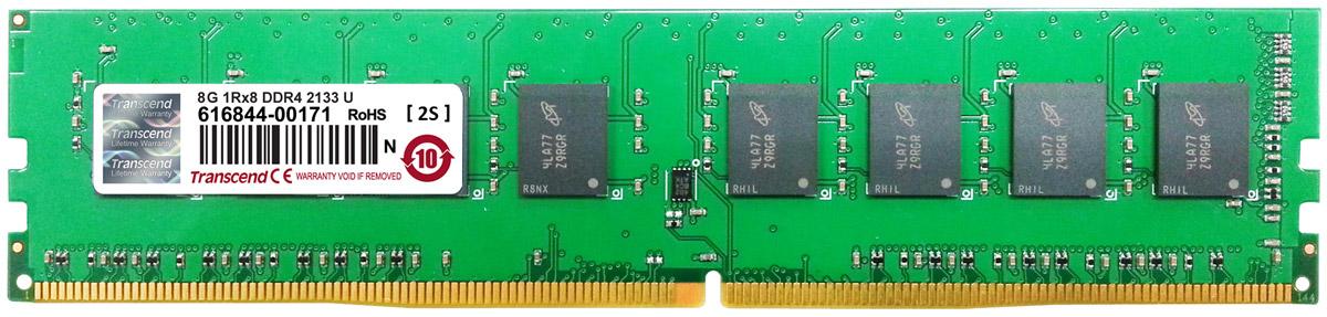 Transcend DDR4 DIMM 8GB 2133МГц модуль оперативной памяти (TS1GLH64V1B)TS1GLH64V1BОперативная память Transcend типа DDR4 по сравнению с предшествующими типами модулей обладает рядом преимуществ. Модуль имеет пониженное напряжение 1,2 В, что позволяет уменьшить энергопотребление. Тактовая частота 2133 МГц обеспечивает качественную синхронизацию процессов и быструю передачу данных. Объем данной оперативной памяти составляет 8 ГБ, что несомненно удовлетворит потребности пользователей, которым нужна высокая производительность и стабильность системы.