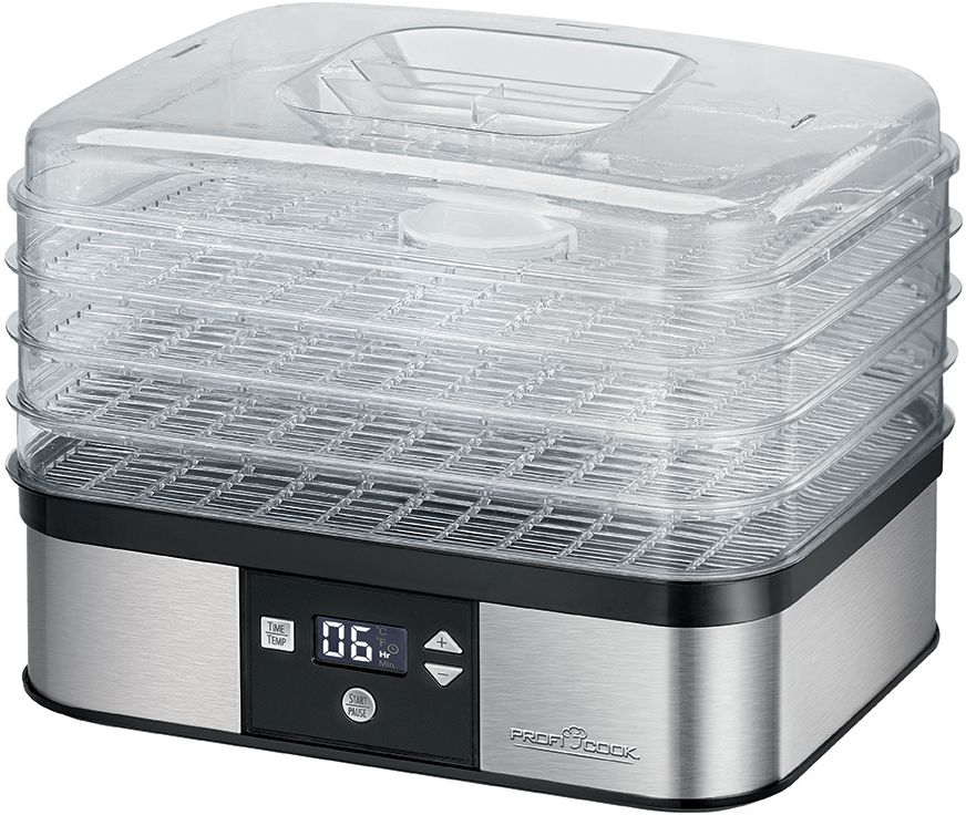 Profi Cook PC-DR 1116, Steel сушилка для фруктов profi cook pc ek 1084