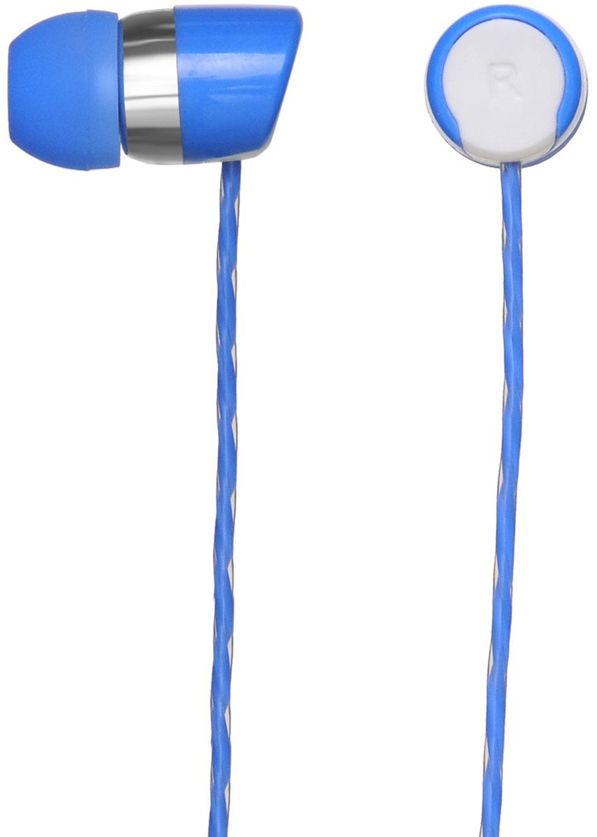 Oklick HS-S-230, Blue наушникиHS-S-230Oklick HS-S-230 - подходящий выбор для тех, кто не может представить свою жизнь без любимой музыки отменного качества, звучащей в ушах в пути, во время занятий спортом и любое другое удобное время.Наушники плотно и надежно фиксируются в ушной раковине благодаря специальной форме амбушюр, что выгодно отличает ее от других проводных моделей. Легковесная конструкция делает ношение этого устройства невероятно комфортным.Акустические характеристики гарнитуры Oklick HS-S-230 обеспечивают естественное звучание на средних частотах и четкую детализацию звуков при прослушивании музыки и аудиокниг.Данная модель оснащена кнопкой ответа на вызов и микрофоном, закрепленными на проводе, поэтому ее можно использовать при подключении не только к компактной аудиотехнике, но и смартфону.