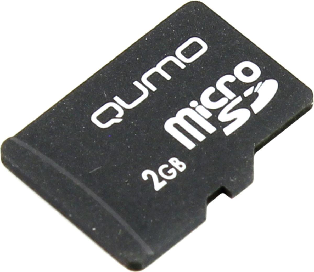 QUMO microSD 2GB карта памятиQM2GMICSDNAУниверсальная карта QUMO microSD расширяет способность памяти многофункциональных мобильных телефонов, цифровых камер, карманных компьютеров и других портативных устройств, поддерживающие данный формат карт. Идеально подходит для записи любых видов данных. Сохраните больше своих собственных коллекций музыки, видеороликов, кинофильмов, рингтонов, картинок и фотографий.